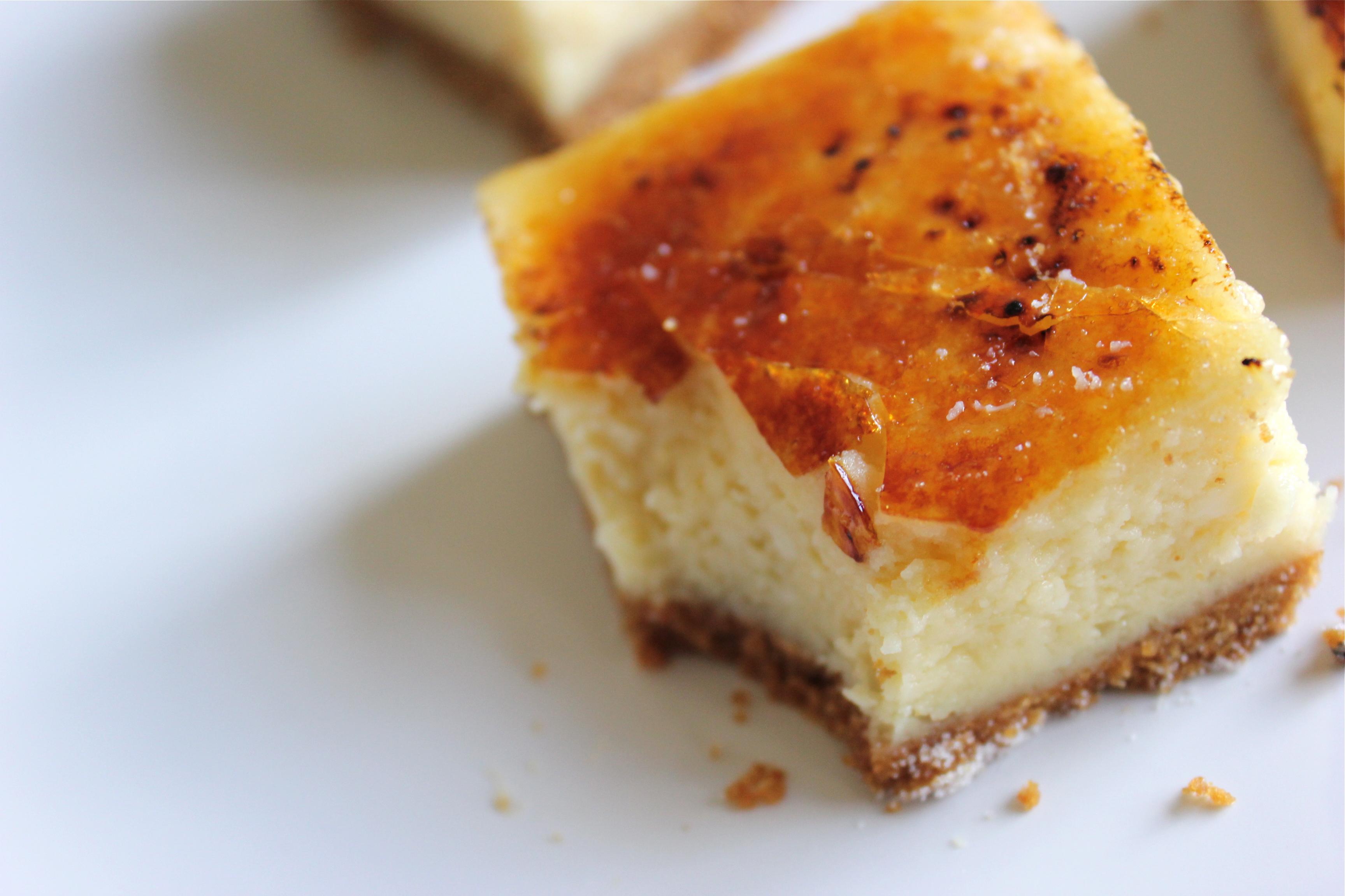 cheesecake creme brulee