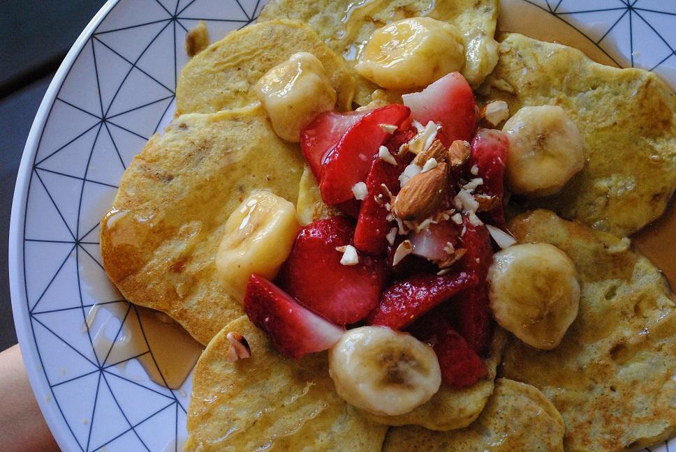 21fbdc1acf Pancakes (τηγανίτες) μπανάνας με μόλις 2 υλικά