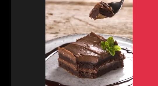 brownies 3 υλικών