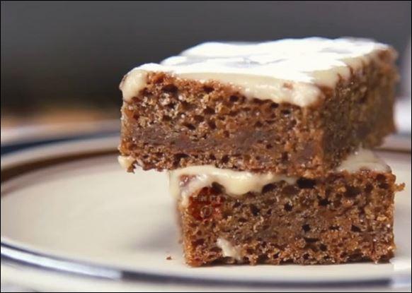 κέικ καρότου με γλάσο