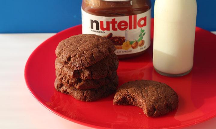 Μπισκότα Nutella