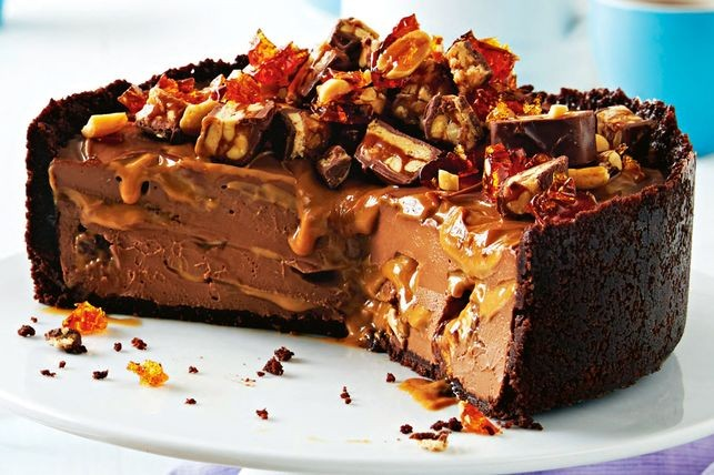 cheesecake με snickers